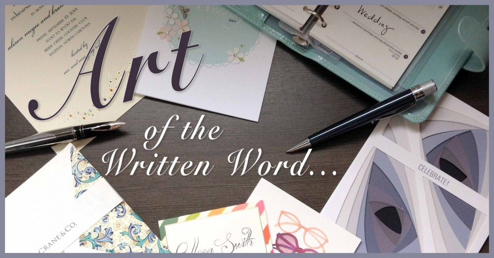 Art of the Written Word Collage