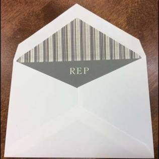 Personalized Men's Stationery by William Arthur