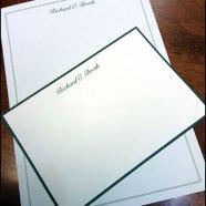 Personalized William Arthur Stationery