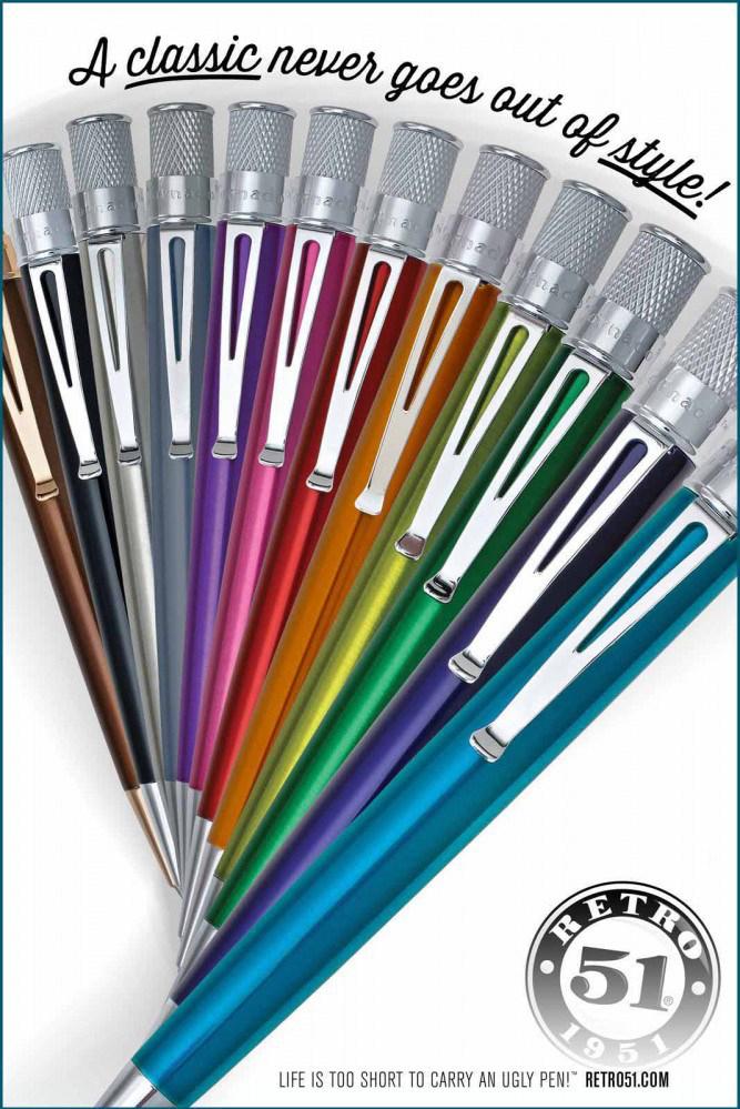 Retro 51Pens Come in Many Colors