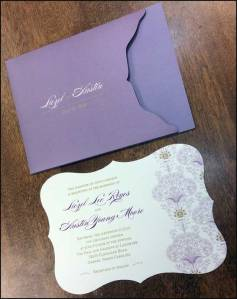 Lavender Bouquets in Print